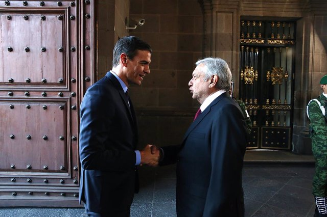 Pedro Sánchez visita Mxic