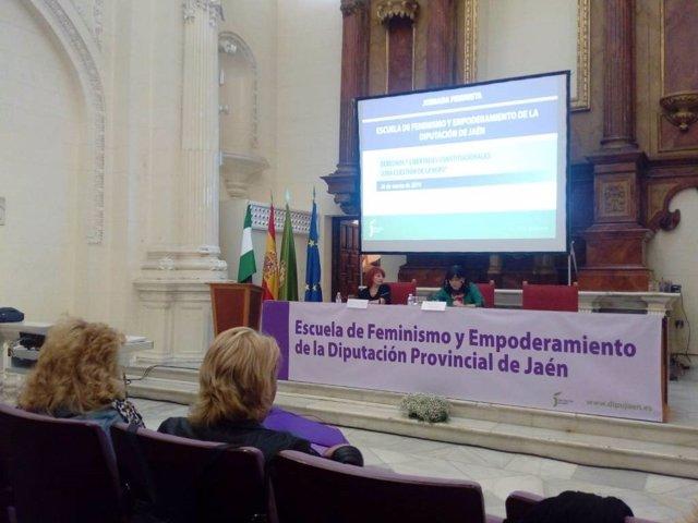 Jaén.- MásJaén.- Diputación organiza una jornada sobre los sesgos de género en l