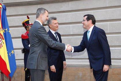 Garamendi (CEOE) ve necesario un mayor esfuerzo de España y Argentina en la digilitalización de sus economías