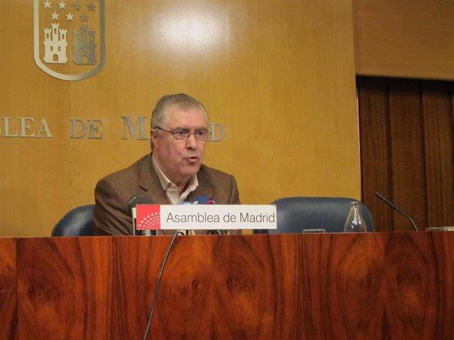 El Diputado Socialista José Quintana