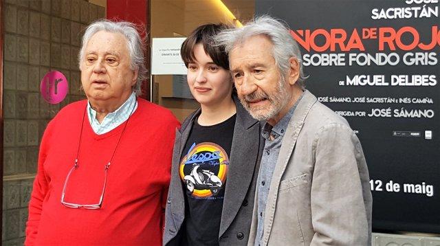 José Sacristán debutar al Teatre Romea amb el seu primer monleg, 'Señora de rojo sobre fondo gris'