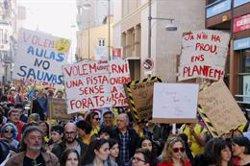 La comunitat educativa de Badalona es revolta per la manca de planificació escolar a la ciutat (ACN)