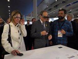 Torra obre el saló internacional Graphispag, que reuneix 380 marques i 200 expositors (EUROPA PRESS)