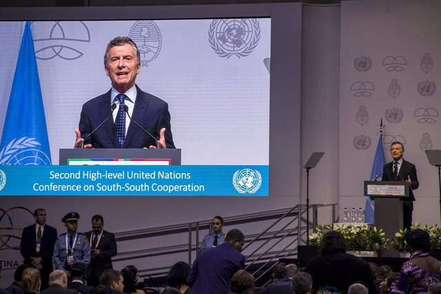 UN conference on South-South Cooperation in Buenos Aires