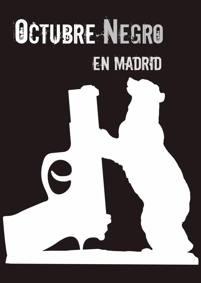 COMUNICADO: Nace el Festival Literario Octubre Negro en Madrid que reunirá a los