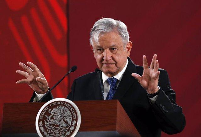 Este fue el mensaje transmitido en vídeo donde López Obrador exige al Rey de Esp