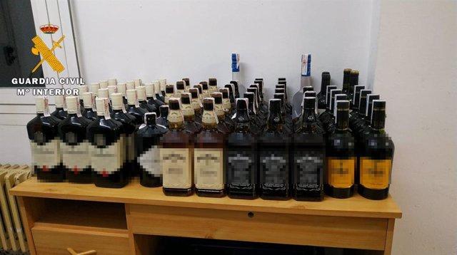 Sucesos.- Detenido como presunto autor del robo de más de 2.000 euros en bebidas