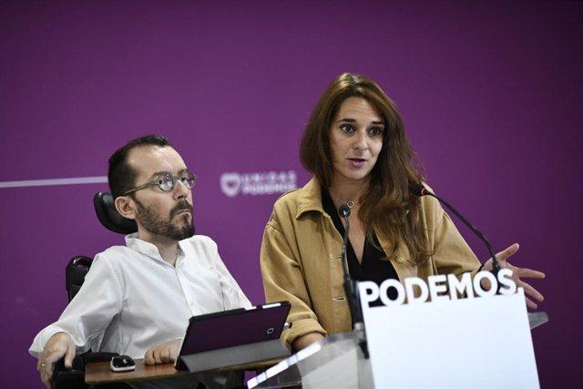 España.- Podemos quiere prohibir que la banca invierta en medios y que dé crédit