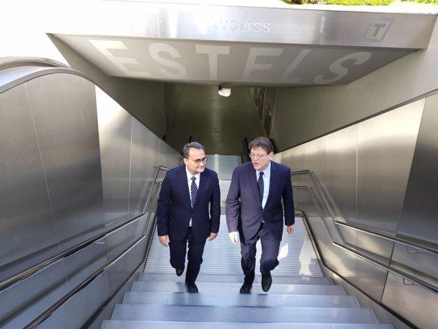 28A.- Puig Anuncia Una Inversión De 30 Millones De Euros Para La Estación Interm