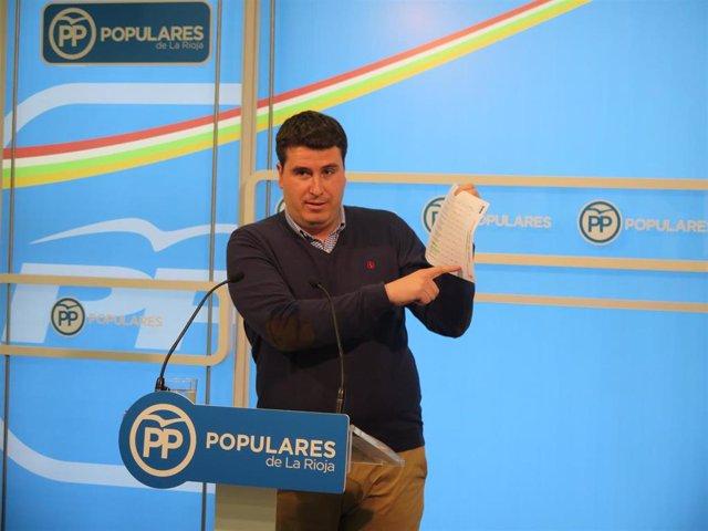 El coordinador del PP, Diego Bengoa