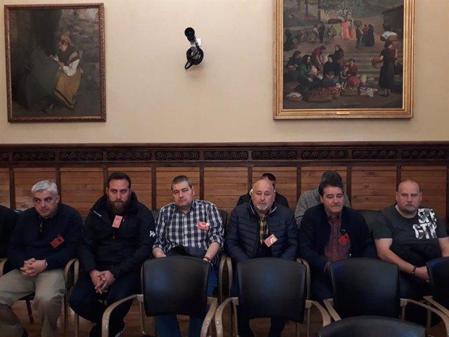 Gijón.- La oposición 'fuerza' al Gobierno local a que la empresa de conservación