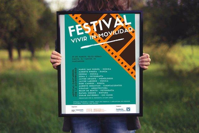 Doce artistas reivindicarán la accesibilidad en el Festival 'Vivir In-Movilidad'
