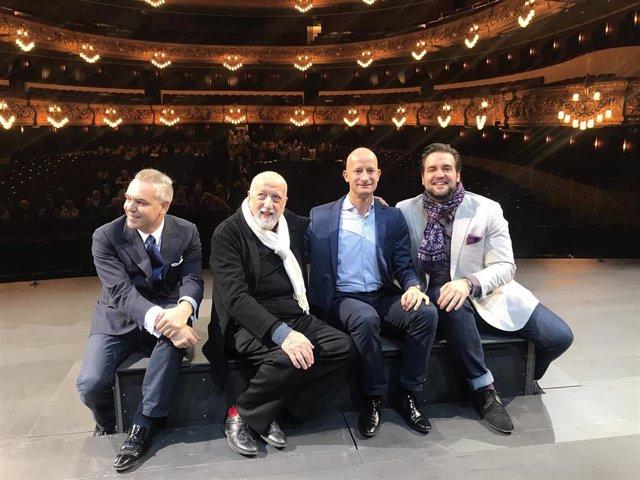 """El Liceu despliega 'La Gioconda' en una Venecia de niebla y """"delirio de luces"""""""