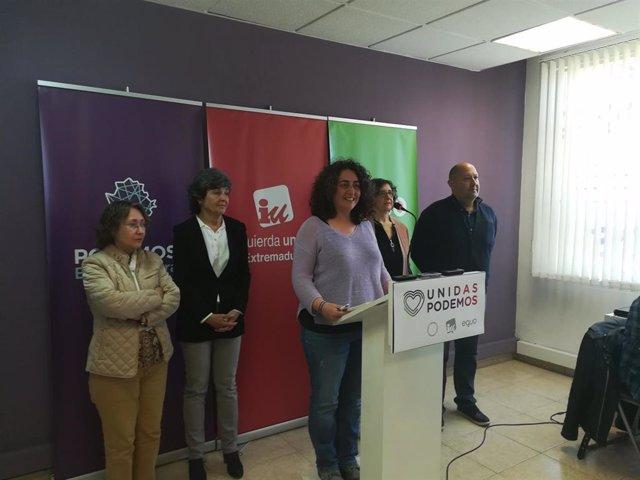 """28A.- Unidos Podemos Sale """"A Ganar"""" Las Elecciones Con Amparo Botejara Y Álvaro"""