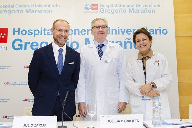 Madrid.- El Hospital Gregorio Marañón y Humans acuerdan humanizar el servicio de