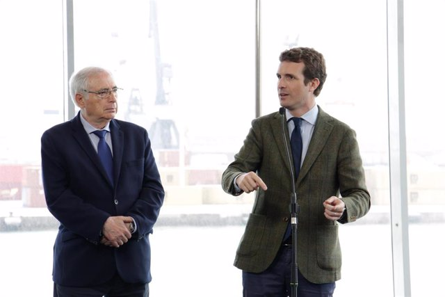 "España.- Casado dice que  Albert Rivera ""sería un buen ministro de Exteriores"""
