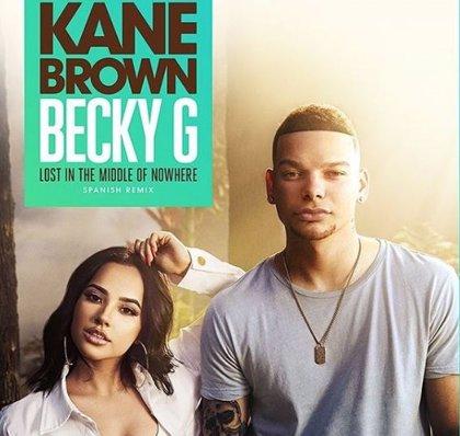 Becky G anuncia el remix en español de 'Lost in the middle of nowhere' con Kane Brown
