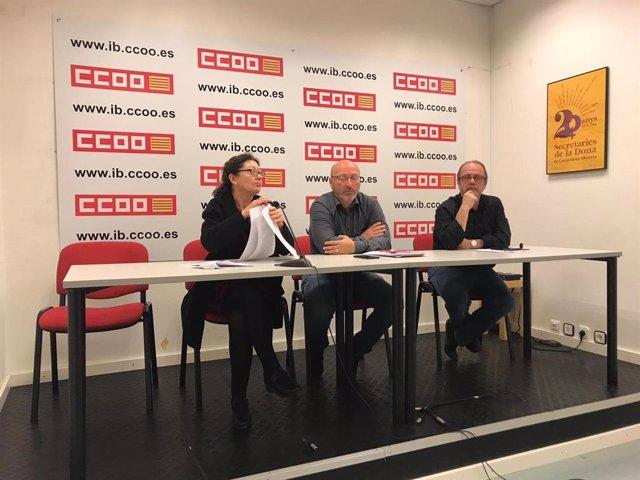 """26M.- CCOO Proposa Solucionar Les """"Ombres"""" Deixades En Aquesta Legislatura Com L"""