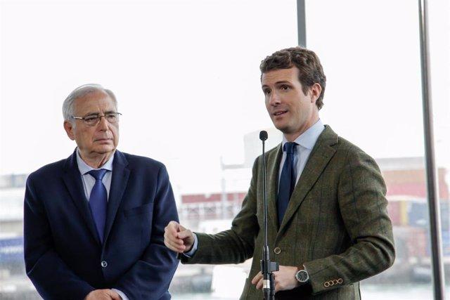 """28A.- Casado no coincidirá con Aznar y Rajoy en campaña para llegar a """"más gente"""