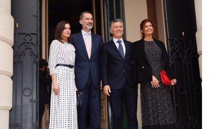 """Macri, presidente de Argentina: """"No nos olvidemos de que la primera vuelta al mundo fue una hazaña española"""""""