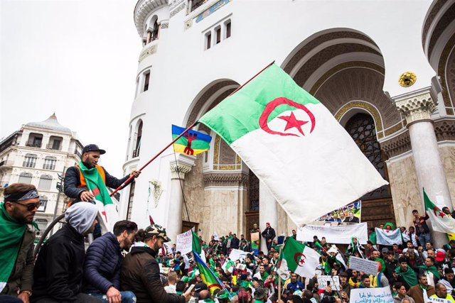 Demonstrations in Algiers