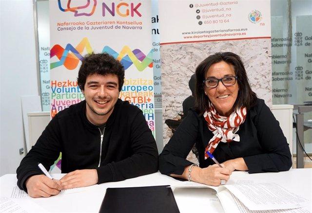 El INDJ concede una subvención de 163.000 euros al Consejo de la Juventud de Nav