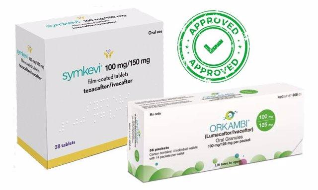 Sanidad autoriza la financiación de los medicamentos 'Orkambi' y 'Symkevi' para