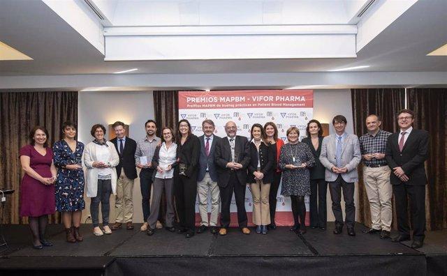 El Proyecto MAPBM galardona a los hospitales que evitan transfusiones de sangre