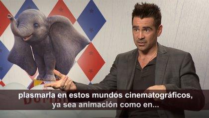 """Colin Farrell: El Dumbo de Tim Burton """"es un 25% remake y 75% original"""""""