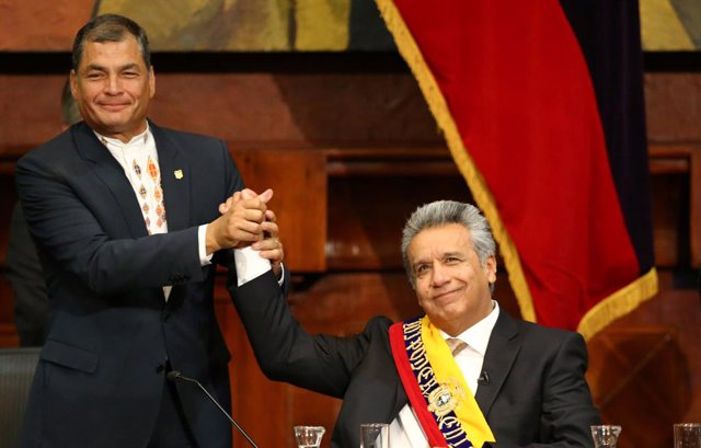 Moreno y Correa miden fuerzas indirectamente en las elecciones locales de Ecuado