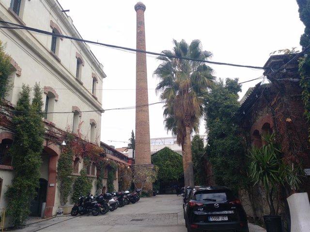 El complejo de Palo Alto en Barcelona