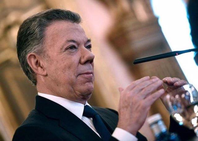 """Juan Manuel Santos: """"El proceso de paz en Colombia es irreversible"""""""