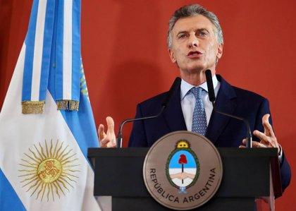 Macri defiende la política monetaria del Gobierno de Argentina ante el derrumbe del peso