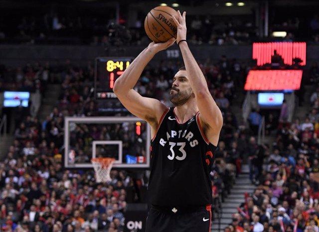 """Baloncesto/NBA.- Marc Gasol: """"En Toronto quieren dar el último paso y creen que"""