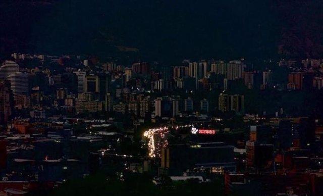 Varios estados venezolanos y algunos sectores de Caracas registran nuevos apagon