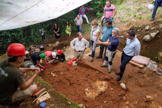 Halladas en La Garma las evidencias más antiguas de la presencia humana en la re
