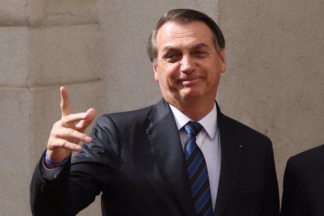 Brazilian President Bolsonaro visits Chile