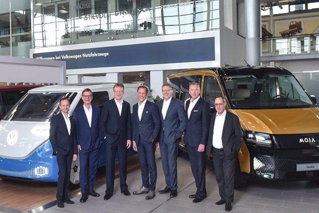 Economía/Motor.- Volkswagen Vehículos Comerciales invertirá 1.800 millones en 20