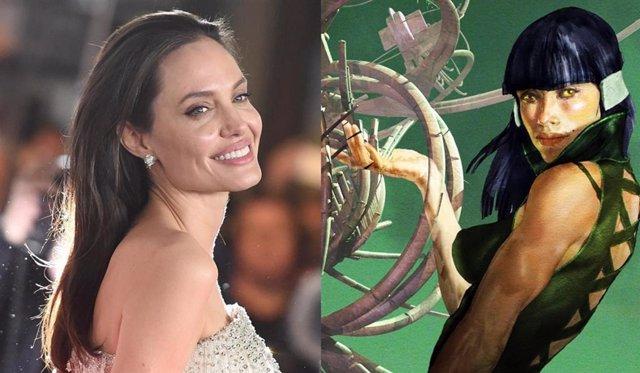 Marvel quiere fichar a Angelina Jolie comp protagonista de Los Eternos