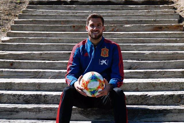 Entrevista de Europa Press al futbolista del Athletic Club Íñigo Martínez
