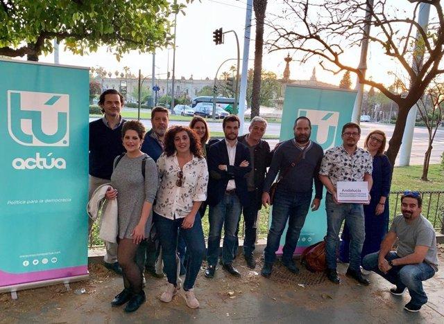 Sevilla.-28A.-El partido de Llamazares presenta candidatura encabezada por el al