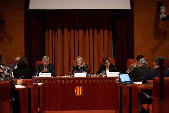 Presentación de la 'Memoria 2017' de la Fiscalía de Cataluña