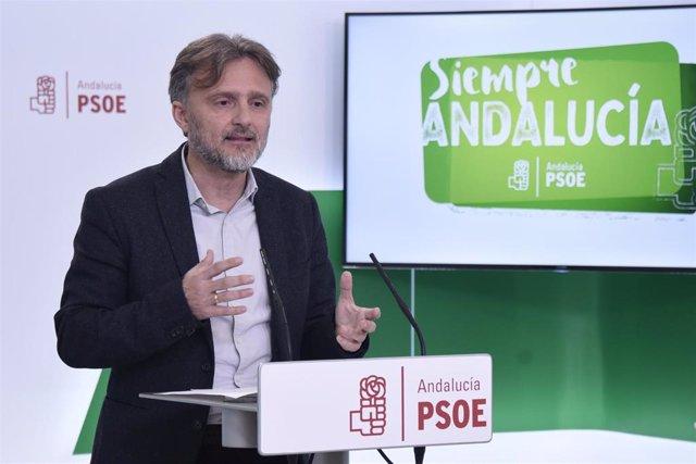 """PSOE-A denuncia """"trilerismo político"""" del Gobierno PP-Cs al no presentar Presupu"""