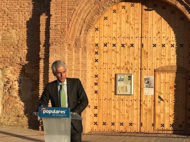 """Suárez Illana (PP) dice que Belchite Viejo debería ser """"un monumento a la concor"""