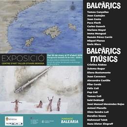 La doble exposició d'artistes mediterranis 'Baleàrics' i 'Baleàrics Músics'