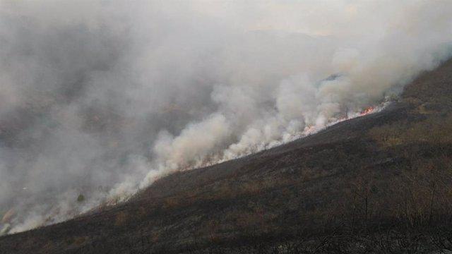 """El SEPA confirma dos quemes actives y diz que la situación ye """"habitual"""""""
