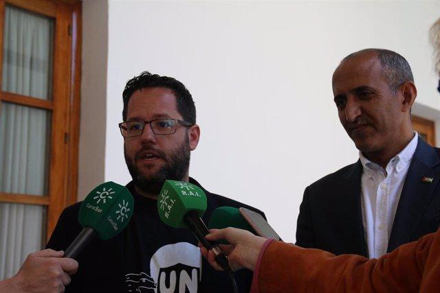 """Adelante exige a Moreno y Marín que condenen """"con rotundidad"""" el robo de un telé"""