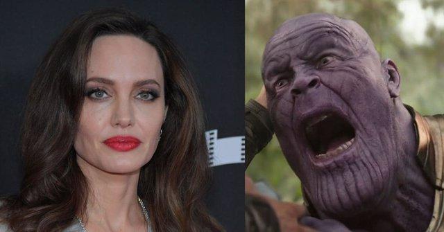 """""""Angelina Jolie Derrotará A Thanos"""": Los Fans De Marvel Enloquecen Con El Último"""