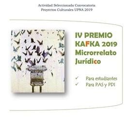 La UPNA convoca el IV Premio Kafka de Microrrelato Jurídico, abierto a la comuni