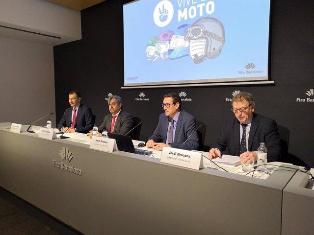 Motor.- Anesdor pide para las motos de Barcelona más aparcamientos y un plan de